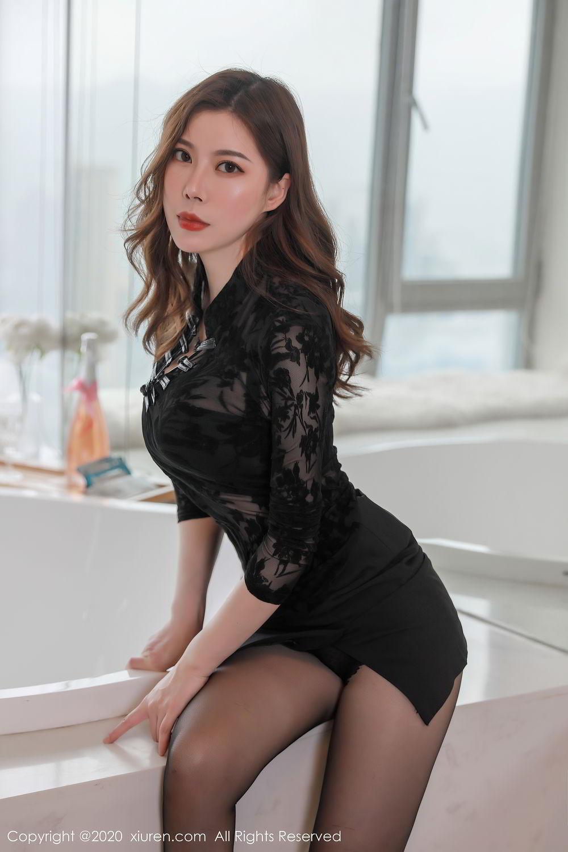 [XiuRen] Vol.2387 Bai Ru Xue 10P, Bai Ru Xue, Big Booty, Black Silk, Xiuren