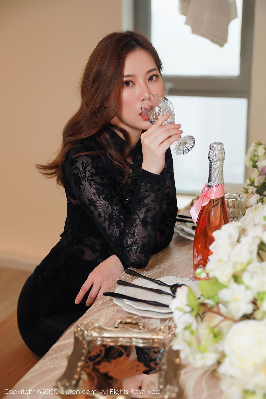 [XiuRen] Vol.2387 Bai Ru Xue 14P, Bai Ru Xue, Big Booty, Black Silk, Xiuren
