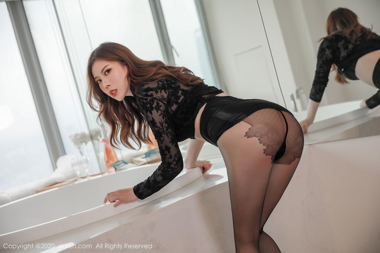 [XiuRen] Vol.2387 Bai Ru Xue 19P, Bai Ru Xue, Big Booty, Black Silk, Xiuren