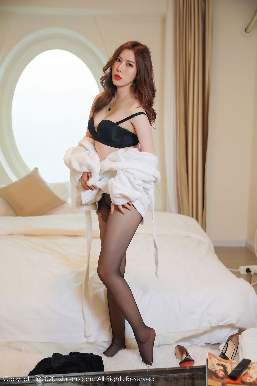 [XiuRen] Vol.2387 Bai Ru Xue 26P, Bai Ru Xue, Big Booty, Black Silk, Xiuren
