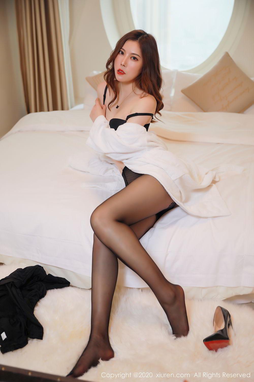 [XiuRen] Vol.2387 Bai Ru Xue 27P, Bai Ru Xue, Big Booty, Black Silk, Xiuren