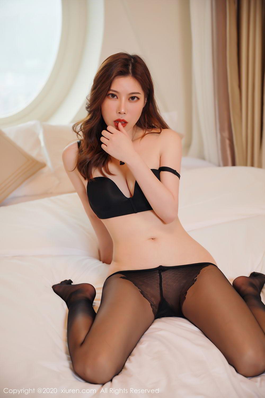[XiuRen] Vol.2387 Bai Ru Xue 30P, Bai Ru Xue, Big Booty, Black Silk, Xiuren