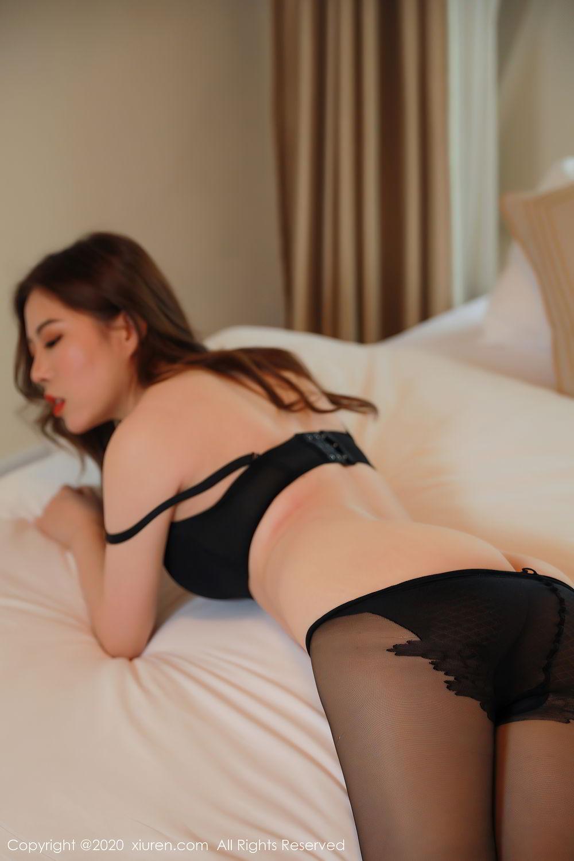 [XiuRen] Vol.2387 Bai Ru Xue 32P, Bai Ru Xue, Big Booty, Black Silk, Xiuren
