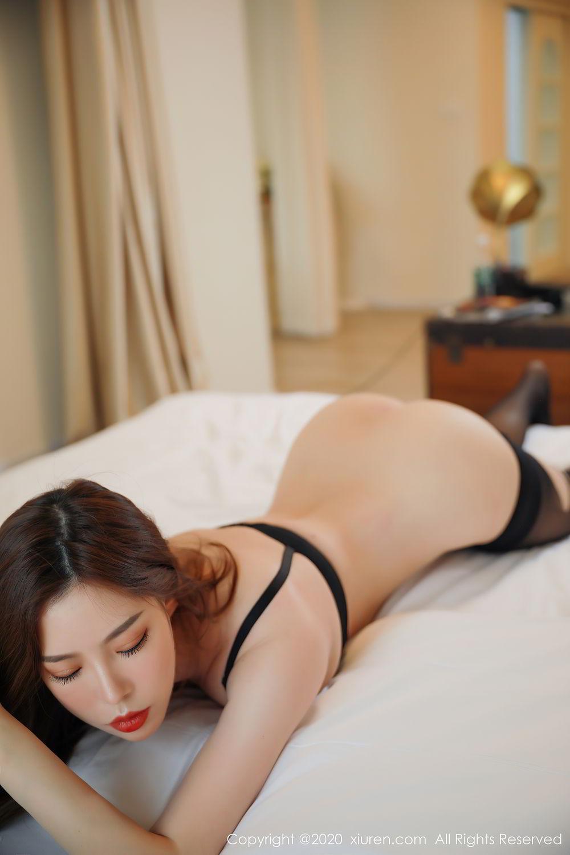 [XiuRen] Vol.2387 Bai Ru Xue 35P, Bai Ru Xue, Big Booty, Black Silk, Xiuren