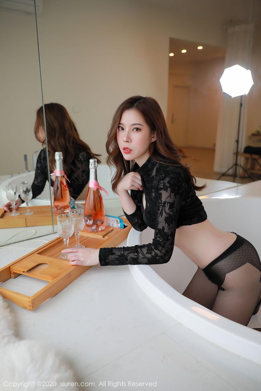 [XiuRen] Vol.2387 Bai Ru Xue 5P, Bai Ru Xue, Big Booty, Black Silk, Xiuren