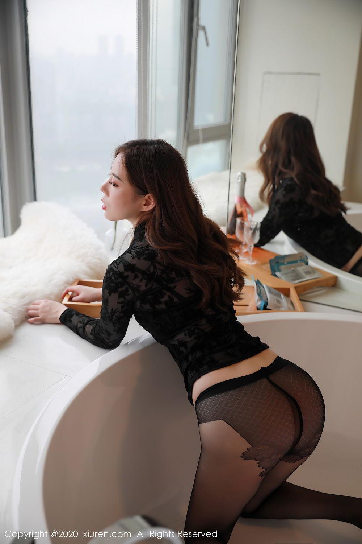 [XiuRen] Vol.2387 Bai Ru Xue 6P, Bai Ru Xue, Big Booty, Black Silk, Xiuren