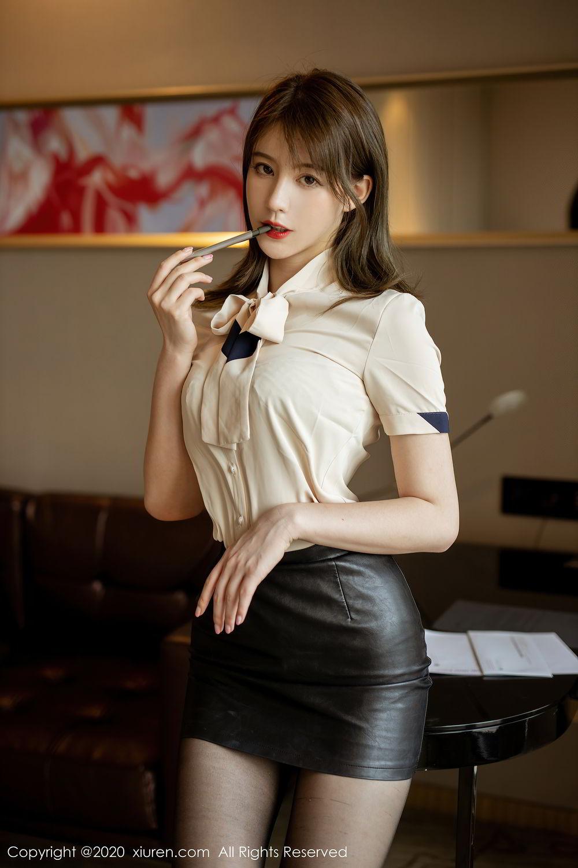[XiuRen] Vol.2388 Yoo You You 47P, Black Silk, Underwear, Xiuren, Yoo You You