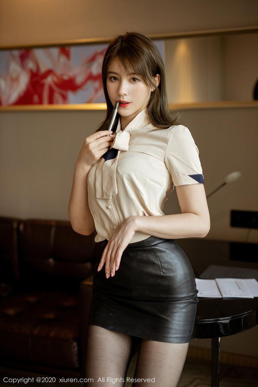 [XiuRen] Vol.2388 Yoo You You 48P, Black Silk, Underwear, Xiuren, Yoo You You