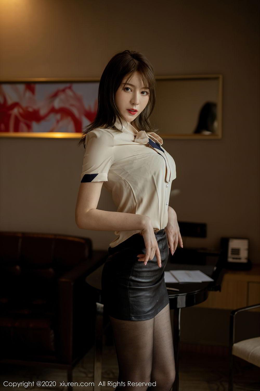 [XiuRen] Vol.2388 Yoo You You 49P, Black Silk, Underwear, Xiuren, Yoo You You