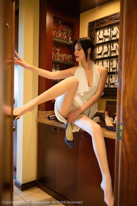 [XiuRen] Vol.2389 Jiu Shi A Zhu 4P, Foot, Jiu Shi A Zhu, Tall, Xiuren