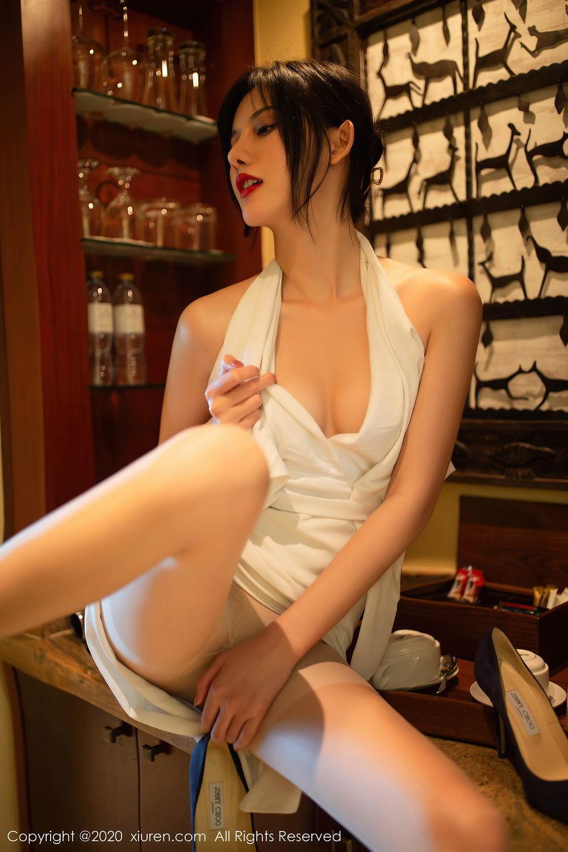 [XiuRen] Vol.2389 Jiu Shi A Zhu 5P, Foot, Jiu Shi A Zhu, Tall, Xiuren