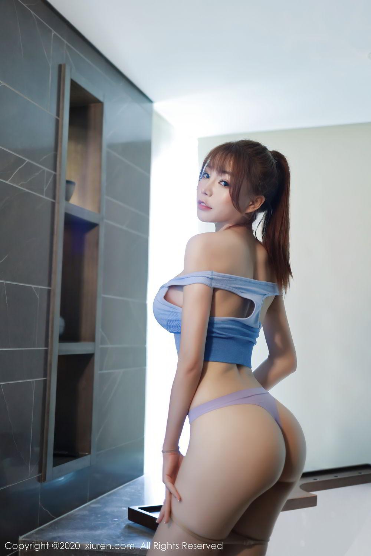 [XiuRen] Vol.2391 Zhi Zhi Booty 44P, Chen Zhi, Underwear, Xiuren