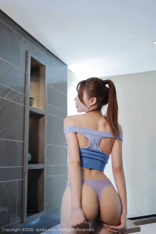[XiuRen] Vol.2391 Zhi Zhi Booty 46P, Chen Zhi, Underwear, Xiuren