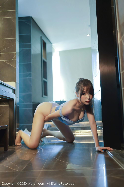 [XiuRen] Vol.2391 Zhi Zhi Booty 64P, Chen Zhi, Underwear, Xiuren