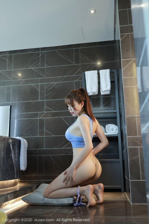 [XiuRen] Vol.2391 Zhi Zhi Booty 72P, Chen Zhi, Underwear, Xiuren