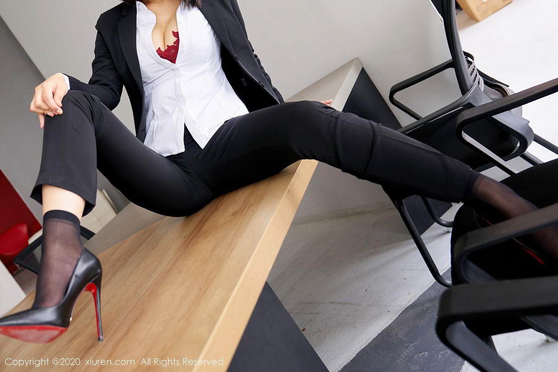 [XiuRen] Vol.2392 Lin Zi Xin 15P, Lin Zi Xin, Underwear, Uniform, Xiuren