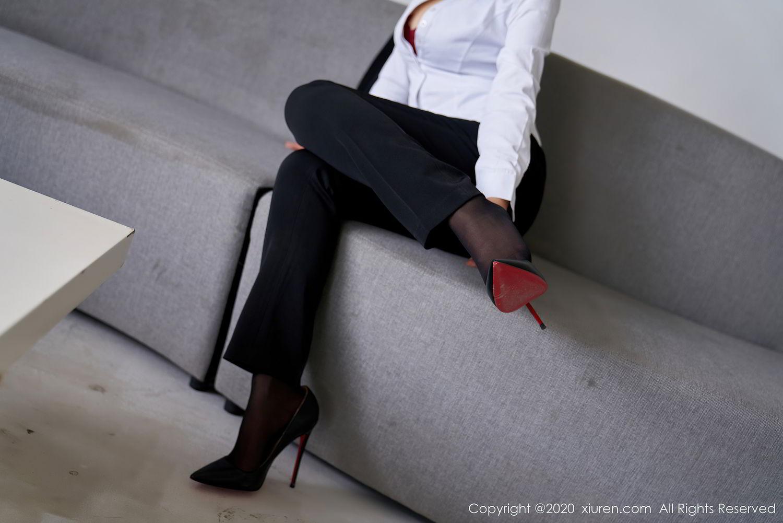 [XiuRen] Vol.2392 Lin Zi Xin 26P, Lin Zi Xin, Underwear, Uniform, Xiuren