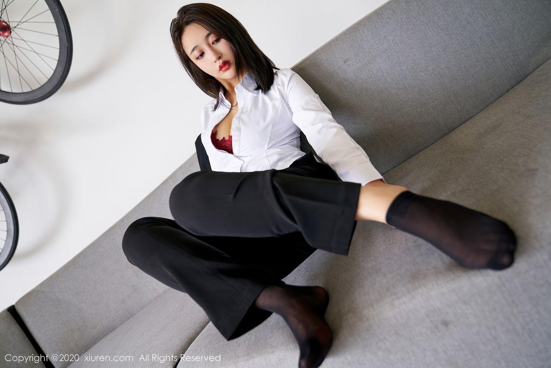[XiuRen] Vol.2392 Lin Zi Xin 28P, Lin Zi Xin, Underwear, Uniform, Xiuren