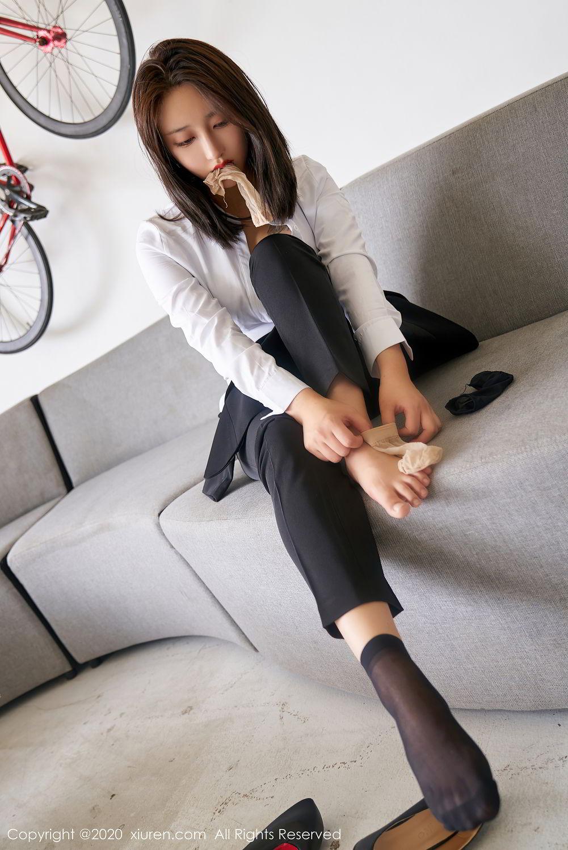 [XiuRen] Vol.2392 Lin Zi Xin 32P, Lin Zi Xin, Underwear, Uniform, Xiuren