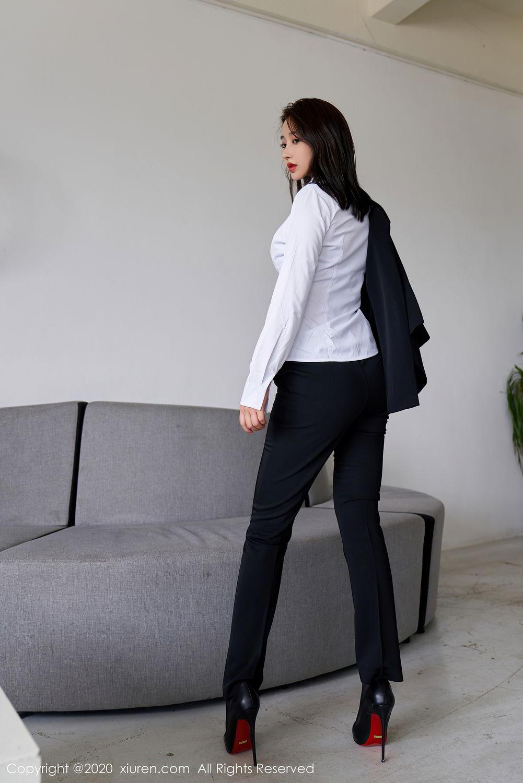 [XiuRen] Vol.2392 Lin Zi Xin 34P, Lin Zi Xin, Underwear, Uniform, Xiuren