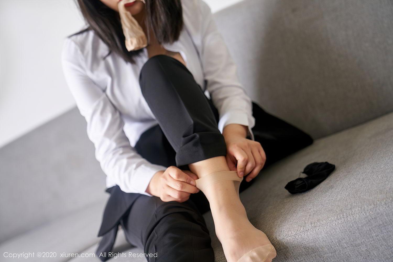 [XiuRen] Vol.2392 Lin Zi Xin 35P, Lin Zi Xin, Underwear, Uniform, Xiuren
