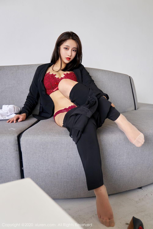 [XiuRen] Vol.2392 Lin Zi Xin 42P, Lin Zi Xin, Underwear, Uniform, Xiuren
