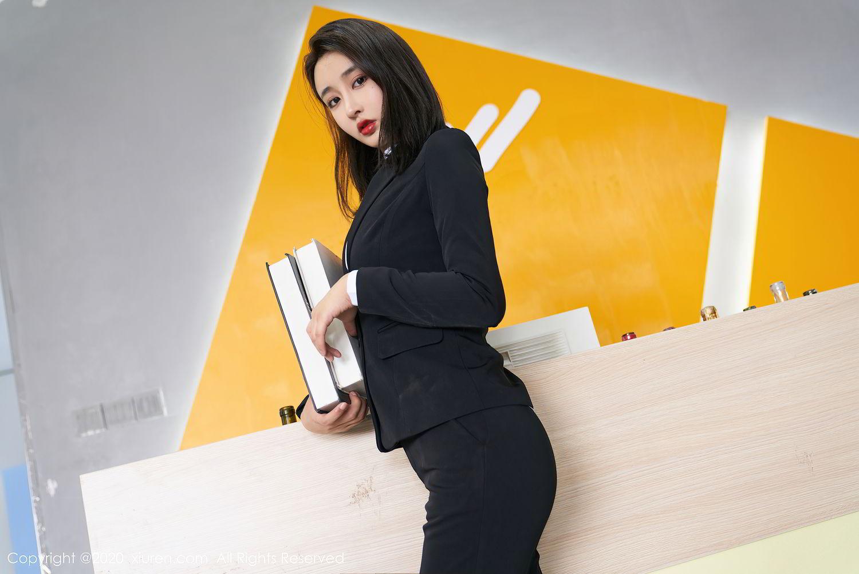 [XiuRen] Vol.2392 Lin Zi Xin 50P, Lin Zi Xin, Underwear, Uniform, Xiuren