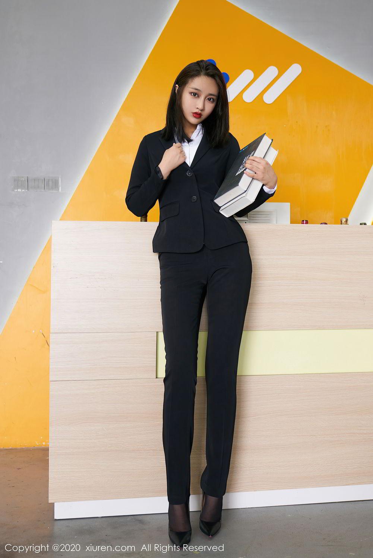 [XiuRen] Vol.2392 Lin Zi Xin 51P, Lin Zi Xin, Underwear, Uniform, Xiuren