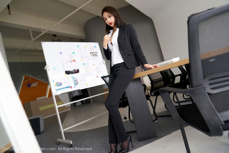 [XiuRen] Vol.2392 Lin Zi Xin 53P, Lin Zi Xin, Underwear, Uniform, Xiuren
