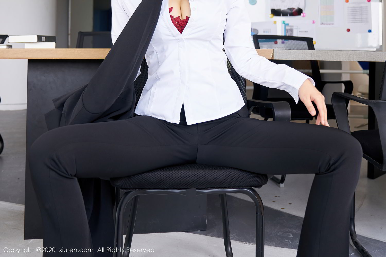 [XiuRen] Vol.2392 Lin Zi Xin 9P, Lin Zi Xin, Underwear, Uniform, Xiuren