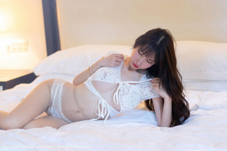 [XiuRen] Vol.2394 Zhou Yu Xi 4P, Underwear, Xiuren, Zhou Yu Xi
