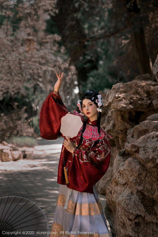 [XiuRen] Vol.2395 Xiao Man Yao 1P, Cheongsam, Underwear, Xiao Man Yao, Xiuren
