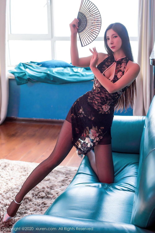 [XiuRen] Vol.2395 Xiao Man Yao 21P, Cheongsam, Underwear, Xiao Man Yao, Xiuren