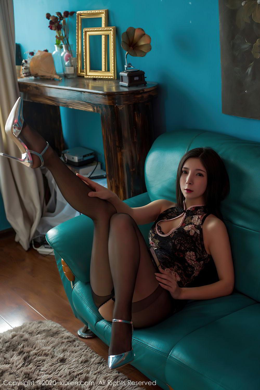 [XiuRen] Vol.2395 Xiao Man Yao 28P, Cheongsam, Underwear, Xiao Man Yao, Xiuren