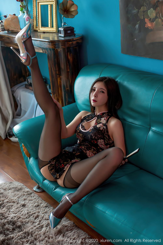 [XiuRen] Vol.2395 Xiao Man Yao 29P, Cheongsam, Underwear, Xiao Man Yao, Xiuren