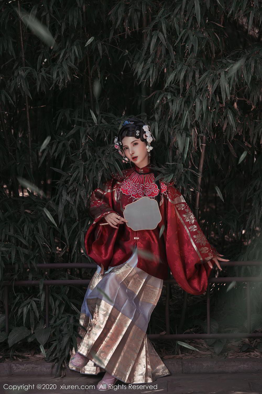 [XiuRen] Vol.2395 Xiao Man Yao 34P, Cheongsam, Underwear, Xiao Man Yao, Xiuren