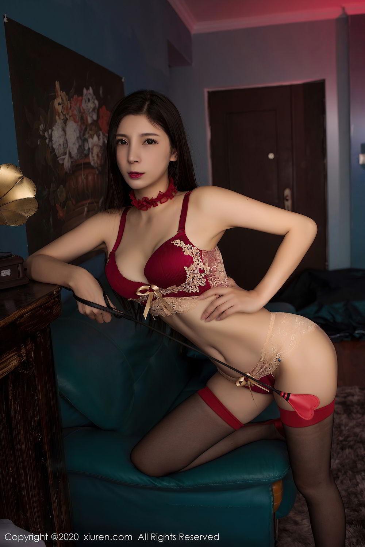 [XiuRen] Vol.2395 Xiao Man Yao 42P, Cheongsam, Underwear, Xiao Man Yao, Xiuren