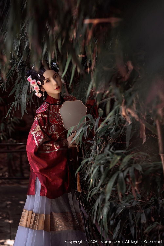 [XiuRen] Vol.2395 Xiao Man Yao 45P, Cheongsam, Underwear, Xiao Man Yao, Xiuren