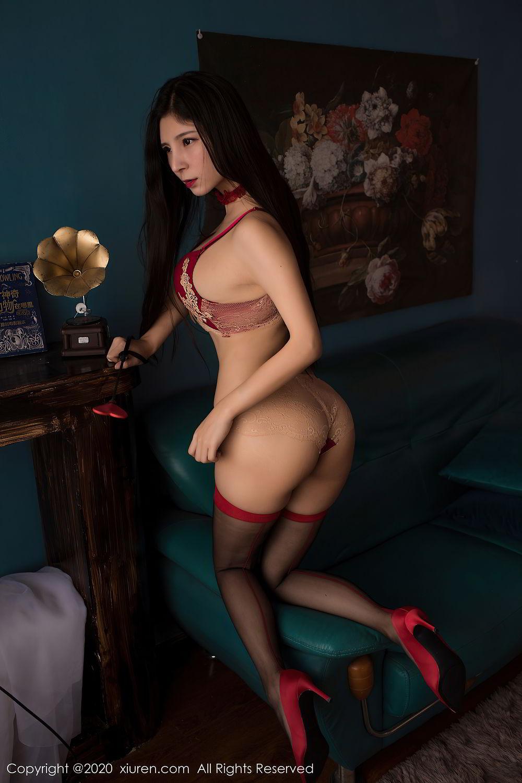 [XiuRen] Vol.2395 Xiao Man Yao 47P, Cheongsam, Underwear, Xiao Man Yao, Xiuren