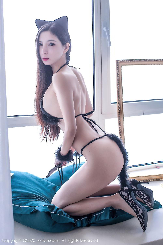 [XiuRen] Vol.2395 Xiao Man Yao 64P, Cheongsam, Underwear, Xiao Man Yao, Xiuren