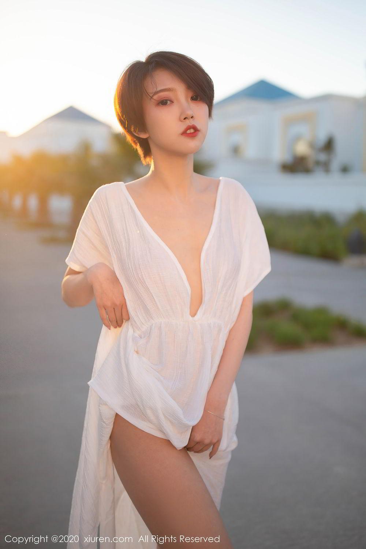 [XiuRen] Vol.2405 Feng Mu Mu 21P, Adult, Feng Mu Mu, Outdoor, Xiuren