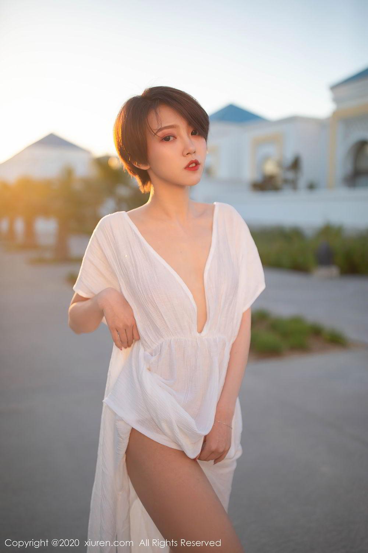 [XiuRen] Vol.2405 Feng Mu Mu 22P, Adult, Feng Mu Mu, Outdoor, Xiuren