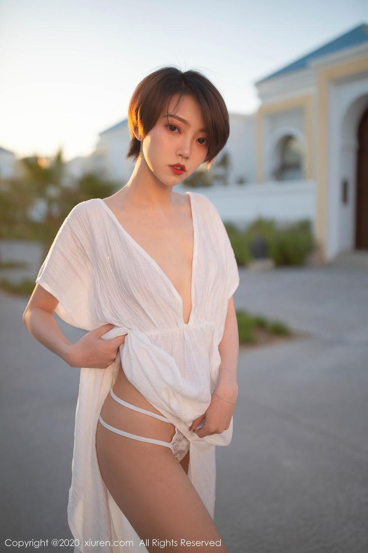 [XiuRen] Vol.2405 Feng Mu Mu 23P, Adult, Feng Mu Mu, Outdoor, Xiuren