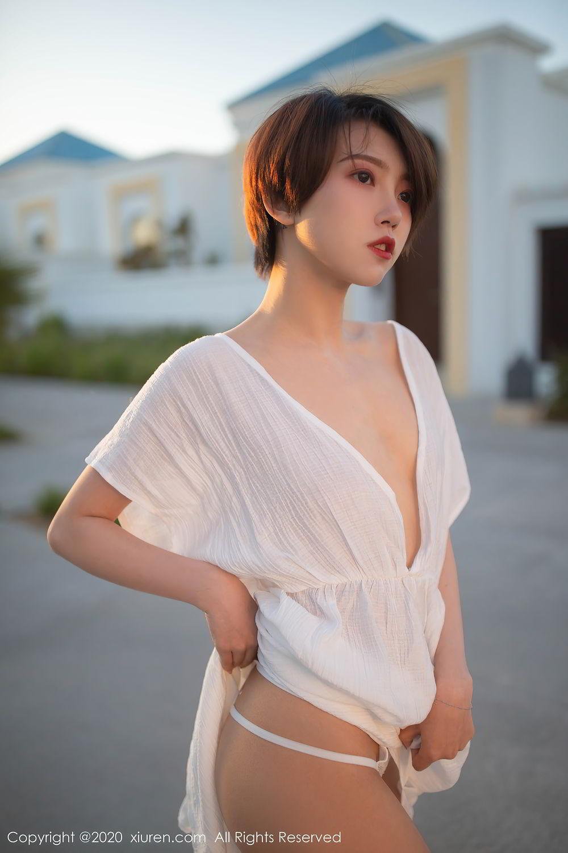 [XiuRen] Vol.2405 Feng Mu Mu 24P, Adult, Feng Mu Mu, Outdoor, Xiuren