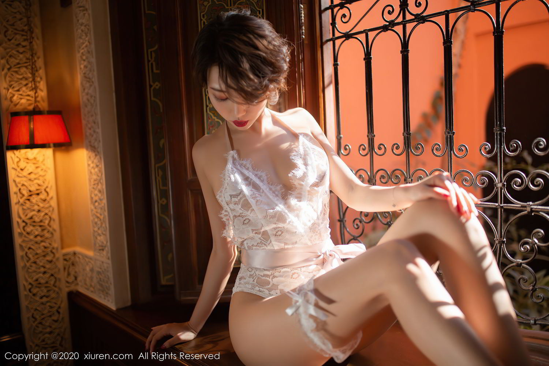 [XiuRen] Vol.2405 Feng Mu Mu 40P, Adult, Feng Mu Mu, Outdoor, Xiuren