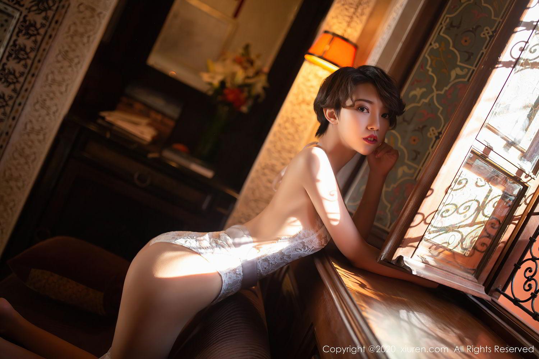 [XiuRen] Vol.2405 Feng Mu Mu 43P, Adult, Feng Mu Mu, Outdoor, Xiuren