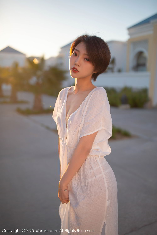 [XiuRen] Vol.2405 Feng Mu Mu 4P, Adult, Feng Mu Mu, Outdoor, Xiuren