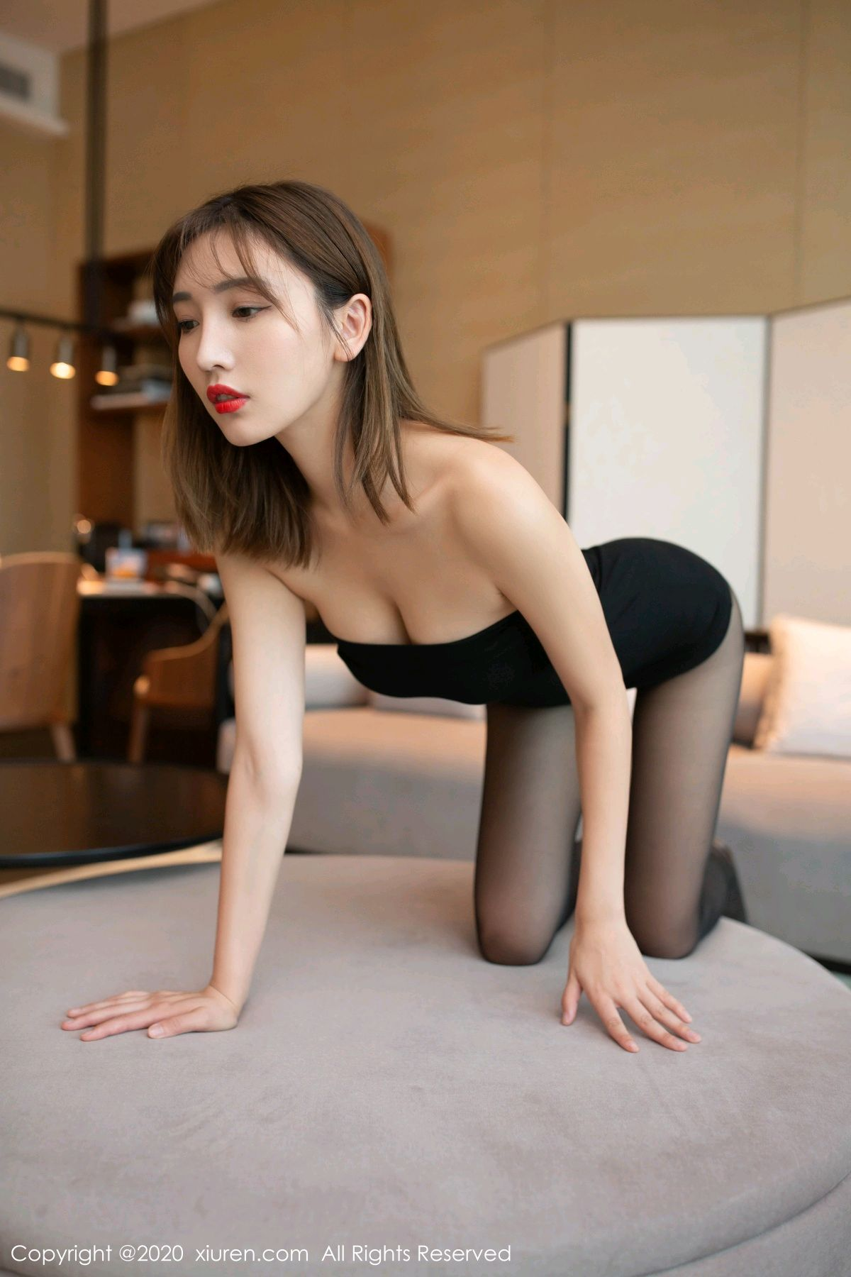 [XiuRen] Vol.2410 Lu Xuan Xuan 12P, Black Silk, Lu Xuan Xuan, Tall, Xiuren