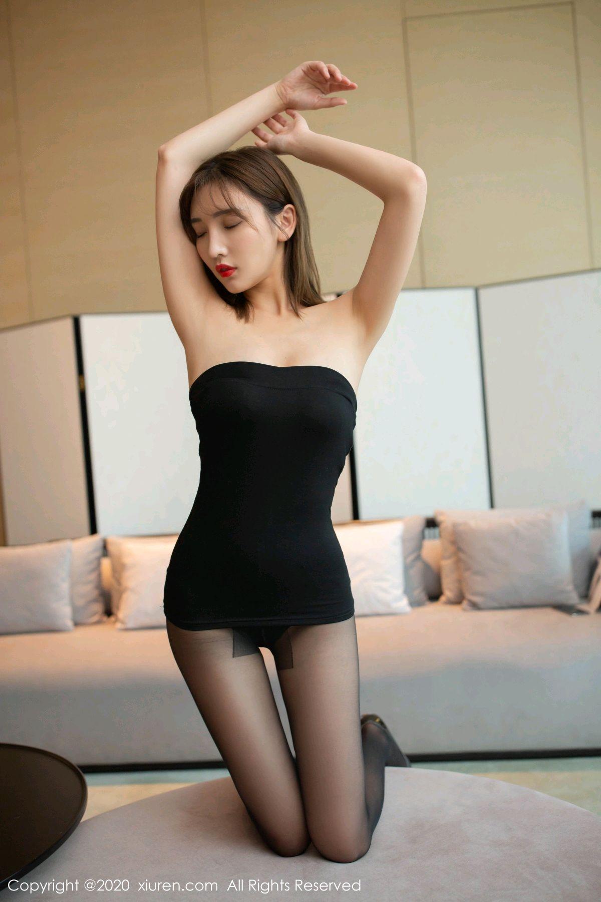 [XiuRen] Vol.2410 Lu Xuan Xuan 13P, Black Silk, Lu Xuan Xuan, Tall, Xiuren