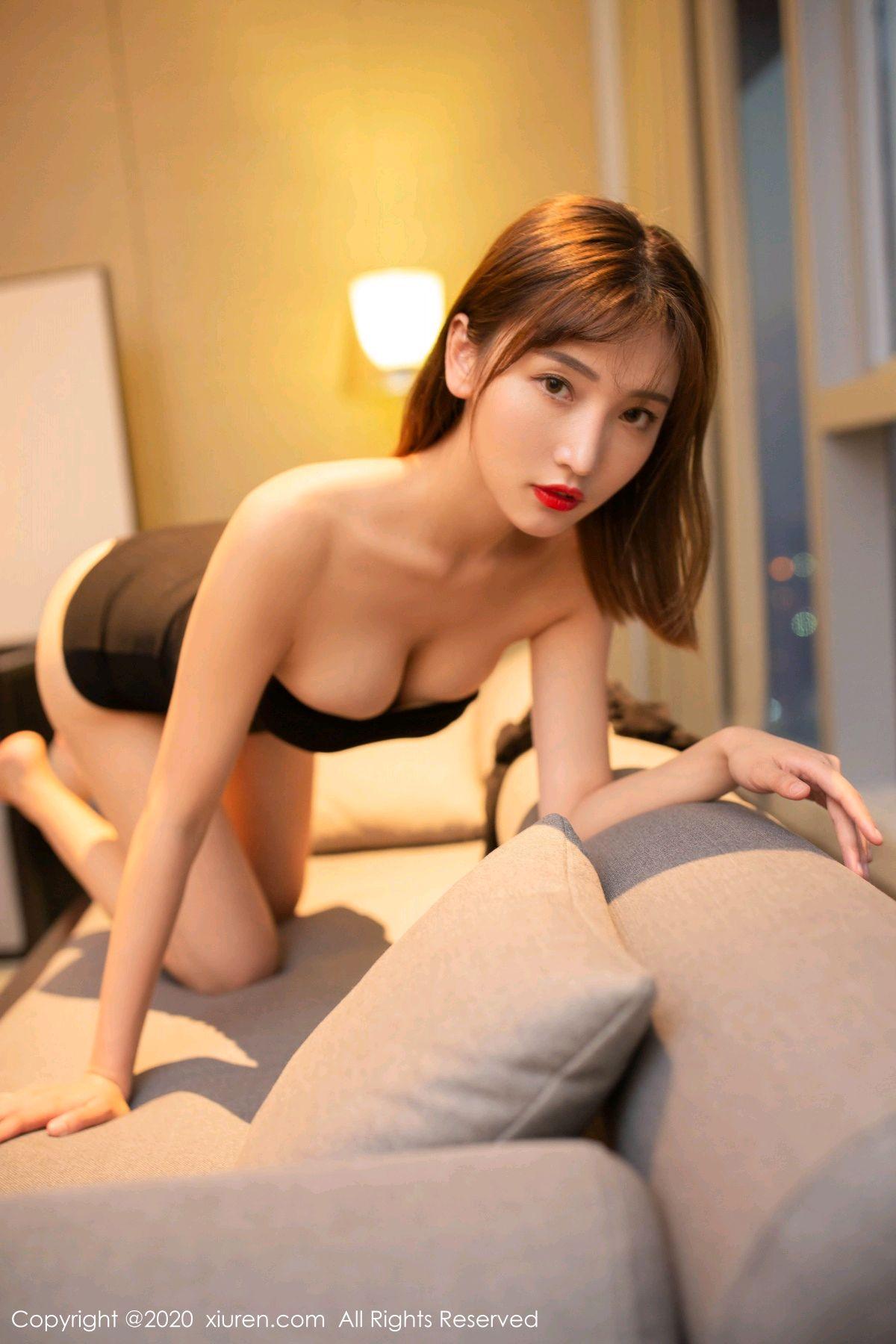 [XiuRen] Vol.2410 Lu Xuan Xuan 66P, Black Silk, Lu Xuan Xuan, Tall, Xiuren